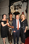Deborah Koenigsberger - Founder & CEO of Hearts of Gold presents Peter Fass with the Hearts of Gold Corporate Responsibility Award and pose with actress Amy Carlson at the annual All That Glitters Gala - 24 years of support to New York City's homeless mothers and their children - (VIP Reception - Silent Auction) was held on November 7, 2018 at Noir et Blanc and the 40/40 Club in New York City, New York.  (Photo by Sue Coflin/Max Photo)