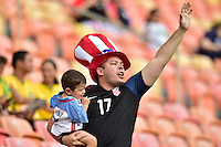 Manaus, Brazil - Tuesday, August 9, 2016: The USWNT take on Colombia in Group G play during the 2016 Olympics at Amazonia Arena.