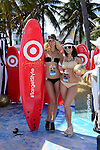 MIAMI BEACH, FL - FEBRUARY 20:  Target models participates in Sports Illustrated Swimsuit 2014 Beach Volleyball:Models & Celebrity Chefs on February 20, 2014 in Miami Beach, Florida. (Photo by Johnny Louis/jlnphotography.com)