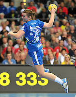 Handball 1. Bundesliga Frauen 2013/14 - Handballclub Leipzig (HCL) gegen Thüringer HC (THC) am 30.10.2013 in Leipzig (Sachsen). <br /> IM BILD: Isa-Sophia Rösicke / Roesicke (HCL) <br /> Foto: Christian Nitsche / aif / aif