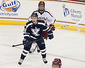 Michael Kirkpatrick (StFX - 18), Ian McCoshen (BC - 3) - The Boston College Eagles defeated the visiting St. Francis Xavier University X-Men 8-2 in an exhibition game on Sunday, October 6, 2013, at Kelley Rink in Conte Forum in Chestnut Hill, Massachusetts.
