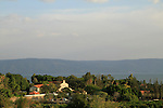 Israel, Sea of Galilee, the Church of the Multiplication of the Loaves and Fishes in Tabgha