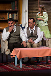"""Jose Luis Gago, Victor Benedé and Estrella Blanco at """"Usted puede ser un asesino"""" Theater play in Muñoz Seca Theater, Madrid, Spain, September 07, 2015. <br /> (ALTERPHOTOS/BorjaB.Hojas)"""
