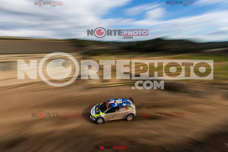 MAURIN Julien / URAL Olivie during the World Rally Car RACC Catalunya Costa Dourada 2016 / Rally Spain, in Catalunya, Spain. October 15, 2016. (ALTERPHOTOS/Rodrigo Jimenez) NORTEPHOTO.COM
