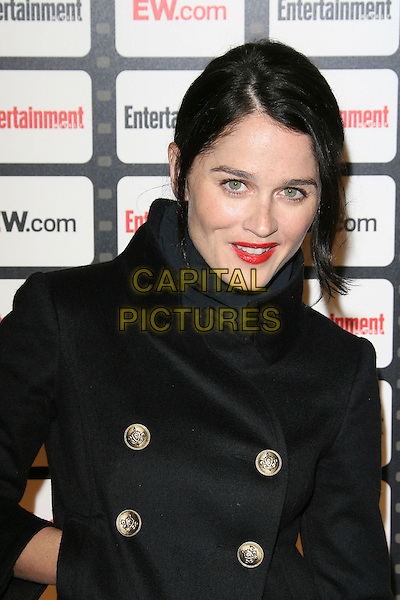 ROBIN TUNNEY.Entertainment Weekly Magazine Celebrates the 2006 Photo Issue held at Quixote Studios, West Hollywood, California, USA..October 4th, 2006.Ref: ADM/ZL.headshot portrait red lipstick black buttons.www.capitalpictures.com.sales@capitalpictures.com.©Zach Lipp/AdMedia/Capital Pictures.