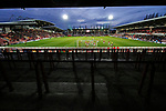 Wrexham 2 Ebbsfleet United 0, 18/11/2017. The Racecourse Ground, National League. Ebbsfleet attack the Kop end of the Racecourse Ground in search of an equaliser. Photo by Paul Thompson.
