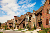 Part of a photography collection showing the variety of architectural styles of homes, apartments and condos in metropolitan Charlotte, NC. Image taken of The Mayfair - Charlotte, NC