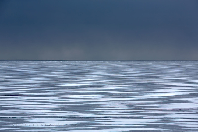 grey days, Lake Superior winter