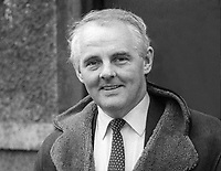 Tom Kiernan, coach, Ireland rugby team, 13th November 1982, 198211130321TK<br /> <br /> Copyright Image from Victor Patterson, 54 Dorchester Park, <br /> Belfast, UK, BT9 6RJ<br /> <br /> t1: +44 28 9066 1296 (from Rep of Ireland 048 9066 1296)<br /> t2: +44 28 9002 2446 (from Rep of Ireland 048 9002 2446)<br /> m: +44 7802 353836<br /> <br /> victorpatterson@me.com<br /> www.victorpatterson.com<br /> <br /> Please see my Terms and Conditions of Use at VICTORPATTERSON.COM. It is IMPORTANT that you familiarise yourself with them.<br /> <br /> Images used on the Internet must be visibly watermarked i.e. &copy;VICTORPATTERSON.COM within the body of the image and copyright metadata must not be deleted. Images used on the Internet have a size restriction of 4kbs and are chargeable at the then current NUJ rates.<br /> <br /> This image is only available for the use of the download recipient i.e. television station, newspaper, magazine, book publisher, etc, and must not be passed on to any third party. It is also downloaded on condition that each and every usage is notified within 7 days to victorpatterson@me.com<br /> <br /> The right of Victor Patterson to be identified as the author is asserted in accordance with The Copyright Designs And Patents Act (1988).