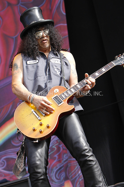 WWW.ACEPIXS.COM . . . . .  ..... . . . . US SALES ONLY . . . . .....Slash performing live during the final day of the Wireless Festival in Hyde Park on July 4, 2010 in London....Please byline: FAMOUS-ACE PICTURES... . . . .  ....Ace Pictures, Inc:  ..tel: (212) 243 8787 or (646) 769 0430..e-mail: info@acepixs.com..web: http://www.acepixs.com