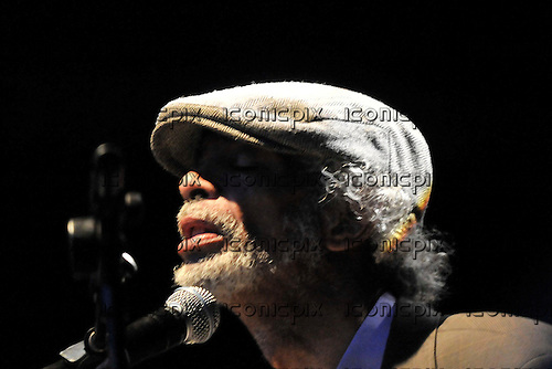 Gil Scott-Heron performing live at the Summer Series concerts at Somerset House London - 14 Jul 2010.  Photo credit: George Chin/IconicPix