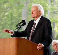 PRIVATE CEREMONY TO DEDICATE THE NEW BILLY GRAHAM LIBRARY IN CHARLOTTE , NC  05-31-2007<br /> By Jonathan L Green