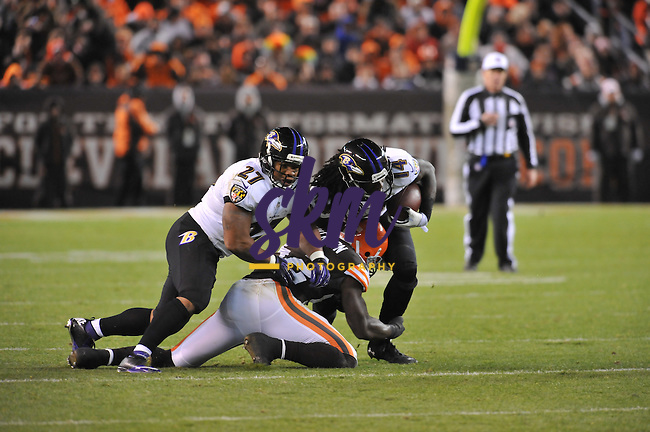The Ravens fail to continue the streak of winning following a bye week as they fell 24-18 to the Browns Sunday evening at First Energy Stadium in Cleveland.The Ravens fail to continue the streak of winning following a bye week as they fell 24-18 to the Browns Sunday evening at First Energy Stadium in Cleveland.