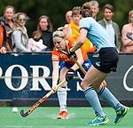 BLOEMENDAAL - Kim van Leeuwen (Bl'daal) , 2e play out wedstrijd tussen Bloemendaal-HGC dames (2-0). COPYRIGHT KOEN SUYK
