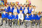 NEW SCHOOL: Junior infants in CBS, Clounalour enjoyed their first day of school and it was also a new building for them following a recent extension to the building.