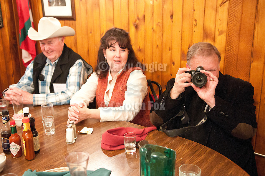 """Dinner at the Martin Hotel, Shooting the West XXIII photo symposium, Winnemucca, Nev. """"The Nevada Photography Experience"""""""