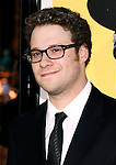 "HOLLYWOOD, CA. - April 06: Seth Rogen arrives at the Los Angeles premiere of ""Observe and Report"" at Grauman's Chinese Theater on April 6, 2009 in Hollywood, California."