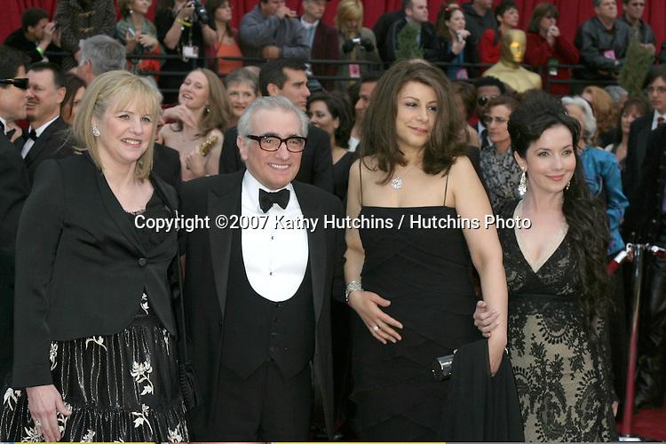 Martin Scorsese & Family.79th Annual Academy Awards.Kodak Theater .Hollywood & Highland.Hollywood, CA.February 25, 2007.©2007 Kathy Hutchins / Hutchins Photo....