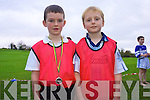 Cian O'Sullivan and Sean Lucey who took part in Kenmare Athletics club running event last week.