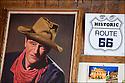 Californie-Route 66<br /> Bagdad caf&eacute;<br /> D&eacute;sert de Mojave