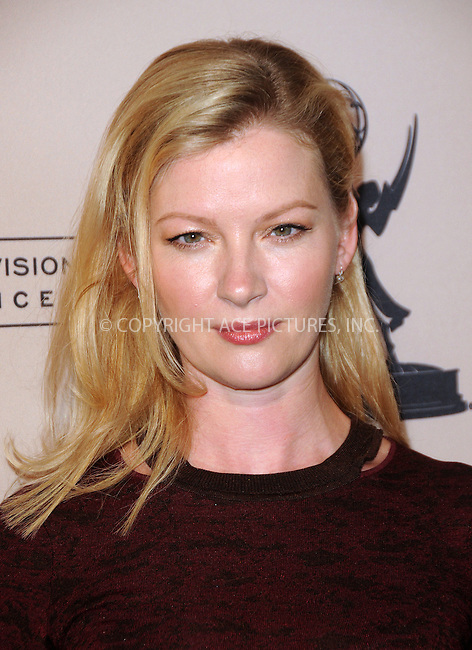 WWW.ACEPIXS.COM . . . . .  ....April 26 2012, LA....Actress Gretchen Mol at an evening with 'Boardwalk Empire' at the Leonard H. Goldenson Theatre on April 26, 2012 in North Hollywood, California.....Please byline: PETER WEST - ACE PICTURES.... *** ***..Ace Pictures, Inc:  ..Philip Vaughan (212) 243-8787 or (646) 769 0430..e-mail: info@acepixs.com..web: http://www.acepixs.com
