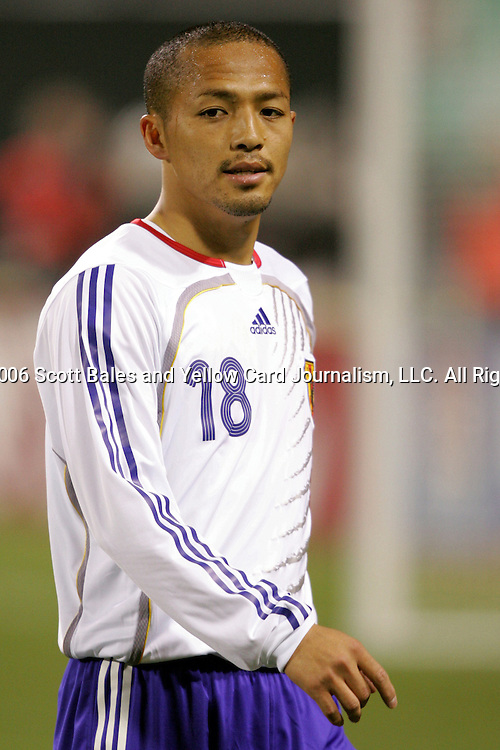 10 February 2006: Japan's Shinji Ono. The United States Men's National Team defeated Japan 3-2 at SBC Park in San Francisco, California in an International Friendly soccer match.