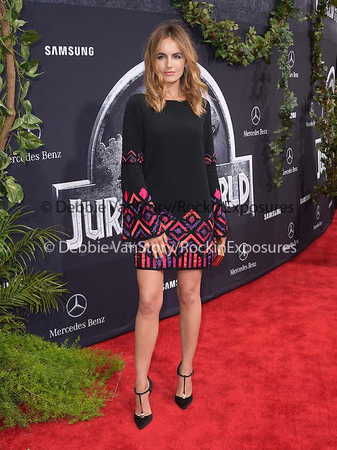 Camilla Belle attends The Universal Pictures World Premiere of Jurassic World held at The Dolby Theatre  in Hollywood, California on June 09,2015                                                                               © 2015 Hollywood Press Agency