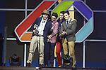 01.12.2016 Barcelona. Los 40 music awards 2016. Murat