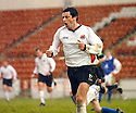 20040403     Copyright Pic : James Stewart.File Name : jspa03_clyde_v_qots.JACK ROSS CELEBRATES THROUGH THE HAIL STORM AFTER SCORING CLYDE'S SECOND GOAL....James Stewart Photo Agency 19 Carronlea Drive, Falkirk. FK2 8DN      Vat Reg No. 607 6932 25.Office     : +44 (0)1324 570906     .Mobile  : +44 (0)7721 416997.Fax         :  +44 (0)1324 570906.E-mail  :  jim@jspa.co.uk.If you require further information then contact Jim Stewart on any of the numbers above.........