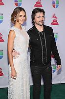 LAS VEGAS, NV - NOVEMBER 15 :  Karen Martínez and Juanes pictured at the 2012 Latin Grammys at Mandalay Bay Resort on November 15, 2012 in Las Vegas, Nevada.  Credit: Kabik/Starlitepics/MediaPunch Inc. /NortePhoto