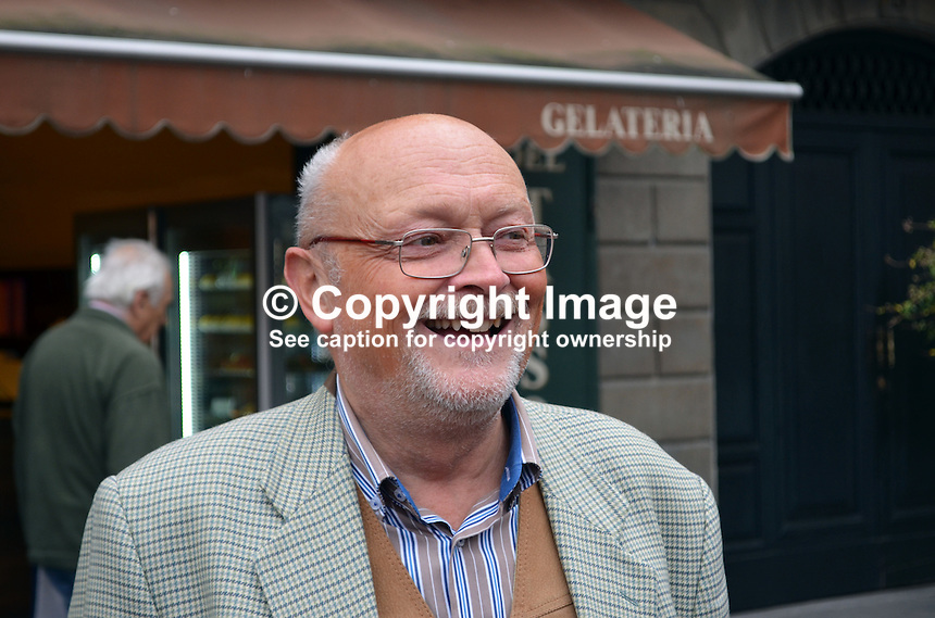 Bruno Pirola, official tourist, guide, Bergamo, Italy, September, 2014, 201410073780<br />