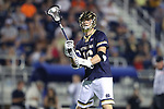 DURHAM, NC - APRIL 28: Notre Dame's Sergio Perkovic. The Duke University Blue Devils played the University of Notre Dame Fighting Irish on April 28, 2017, at Koskinen Stadium in Durham, NC in a 2017 ACC Men's Lacrosse Tournament Semifinal match. Notre Dame won the game 7-6.