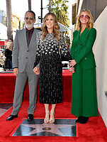 LOS ANGELES, CA. March 29, 2019: Tom Hanks, Rita Wilson & Julia Roberts at the Hollywood Walk of Fame Star Ceremony honoring actress Rita Wilson.<br /> Pictures: Paul Smith/Featureflash