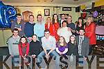 18th Birthday : Aaron Quinland, Listowel celebrating his 18th birthday with family & friends at the Saddle Bar, Listowel on Friday evening last. Front: Eamonn Harnett, Ciara O'Sullivan, Aoife Murphy, Aaronn Quinland, Serena Quinland, Tara Murtagh & Gerard Dee. Bcak : Daniel O'Sullivan, Jack McKenna, Mike & Carmel Quinland, Ciara O'Shea, Michael Murtagh, Wendy Glatt, Ian Lazenby, Eleanor Murtagh & Chaeli Quinland.