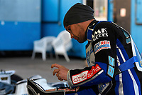 Mateusz Szczepaniak of Poole Pirates during Poole Pirates vs Belle Vue Aces, Elite League Speedway at The Stadium on 11th April 2018