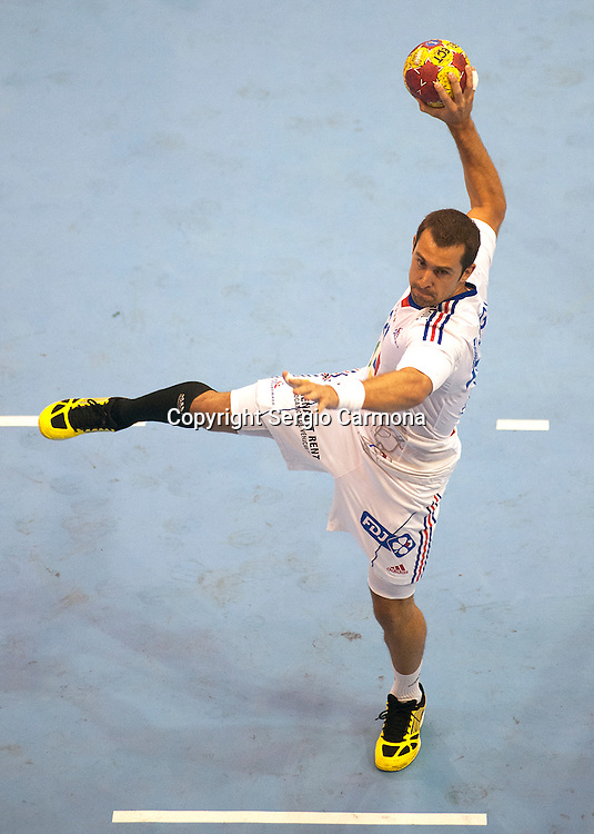 23rd IHF Men's World Championship; FRA-ARG             Michael Guigou (FRA).