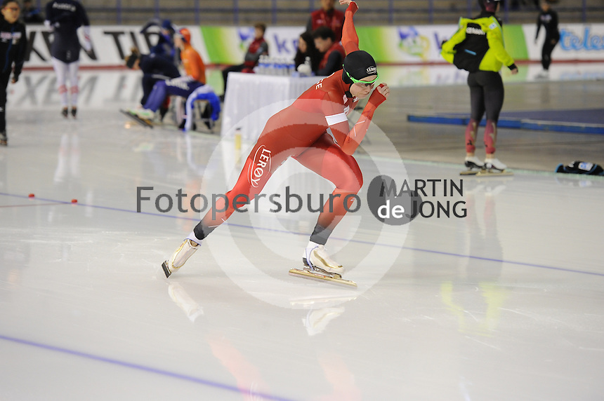 SPEEDSKATING: CALGARY: Olympic Oval, 25-02-2017, ISU World Sprint Championships, 500m Ladies, Hege Bøkko (NOR), ©photo Martin de Jong