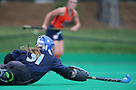 12 September 2014: North Carolina's Shannon Johnson. The University of North Carolina Tar Heels hosted the Syracuse University Orange at Francis E. Henry Stadium in Chapel Hill, North Carolina in a 2014 NCAA Division I Field Hockey match. UNC won the game 3-0.