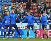 30th September 2017, The John Smiths Stadium, Huddersfield, England; EPL Premier League football, Huddersfield Town versus Tottenham Hotspur; Tottenham team warming up before the game