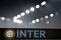 Inter strip and San Siro lights <br /> Milano 09/02/2020 Stadio San Siro <br /> Football Serie A 2019/2020 <br /> FC Internazionale - AC Milan <br /> Photo Andrea Staccioli / Insidefoto