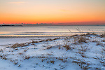 Sunrise at Revere Beach, Revere, Massachusetts, USA