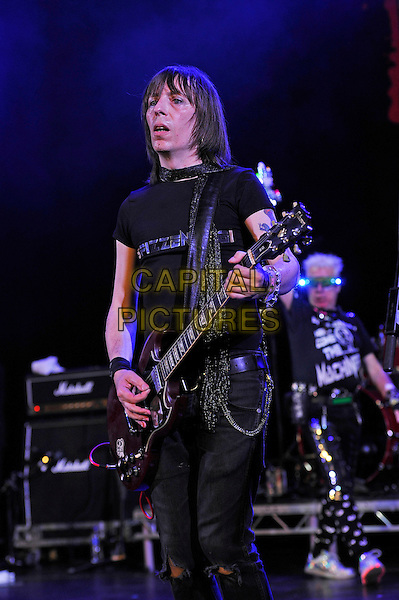 BLACKPOOL, ENGLAND - AUGUST 6: Spizz od 'Spizz' performing at Rebellion Festival, Empress Ballroom, Winter Gardens on August 6, 2016 in Blackpool, England.<br /> CAP/MAR<br /> &copy;MAR/Capital Pictures
