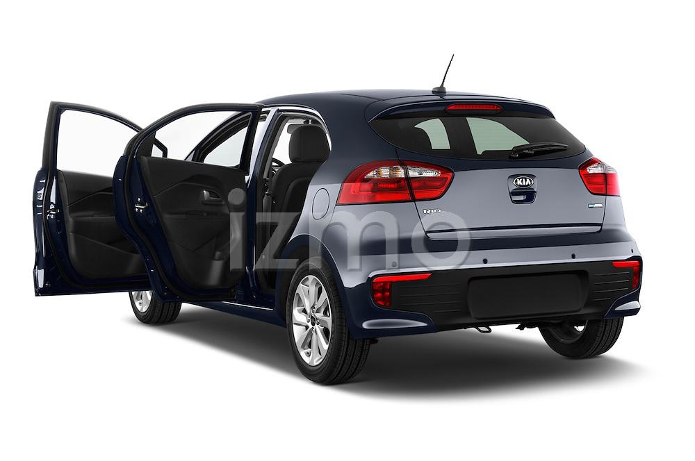 Car images of2015 KIA Rio World Edition 5 Door Hatchback Doors