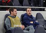 Tottenham's Christian Eriksen looks on from the bench during the UEFA Champions League match at the Tottenham Hotspur Stadium, London. Picture date: 26th November 2019. Picture credit should read: David Klein/Sportimage