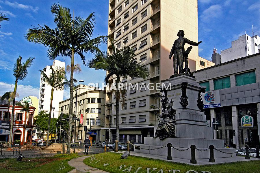 Praça Carlos Gomes em Campinas, São Paulo. 2005. Foto de Juca Martins.