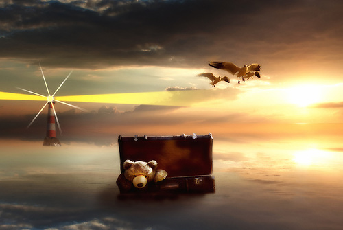 Photo manipulation.<br /> <br /> start of a new journey <br /> Nathan Wright