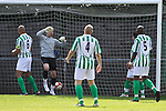 Horsham score the opening goal in the pre-season friendly between Great Wakering Rovers v Horsham FC, 28th July 2012 at Burroughs Park