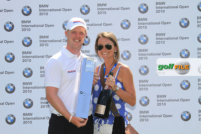 David Horsey and partner winner of the  BMW International Open in GC Munchen Eichenried. 27/6/2010.Picture Fran Caffrey/www.golffile.ie