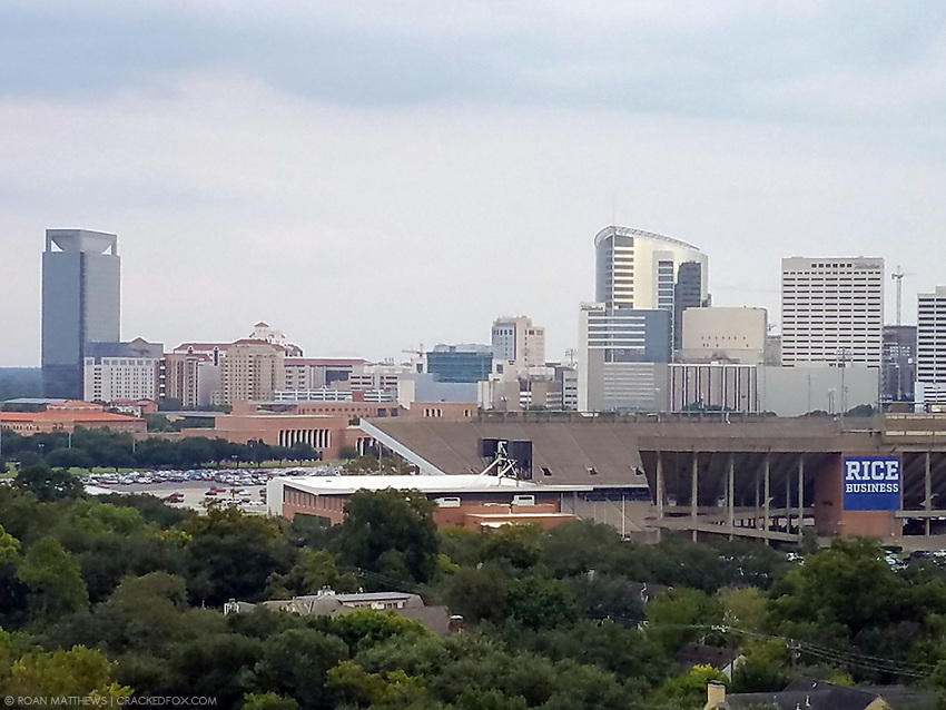 Texas Medical Center skyline