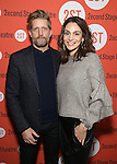 Paul Sparks and Annie Parisse attends the Off-Broadway Opening Night performance of 'Man From Nebraska' at the Second StageTheatre on February 15, 2017 in New York City.